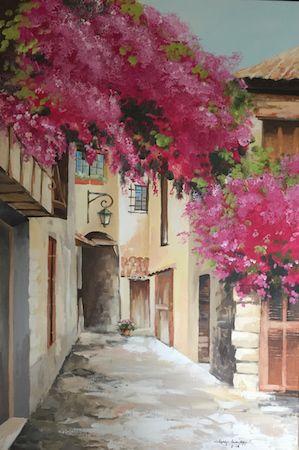 Aquarellmalerei acrylmalerei hardy hasenj ger malerei - Acrylmalerei ideen ...
