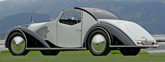 1934 Voisin Type C27 Aérosport Coupé