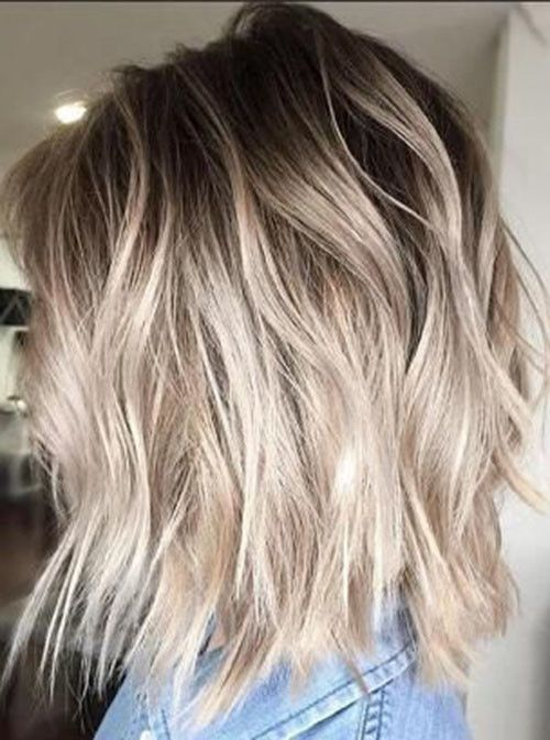 21 Short Light Brown Hair With Blonde Highlights Beautiful Brown To Blonde Ombre Short Hair Ash Blonde Hair Colour Short Ombre Hair Short Hair Balayage