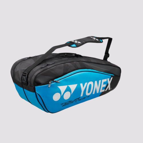 Yonex 9826ex Badminton Racquets Bag Blue Backpacks Tennis Racket Tennis Player Tennis Accessories Tennis Tennis Racquet Bag Racquet Bag Tennis Accessories