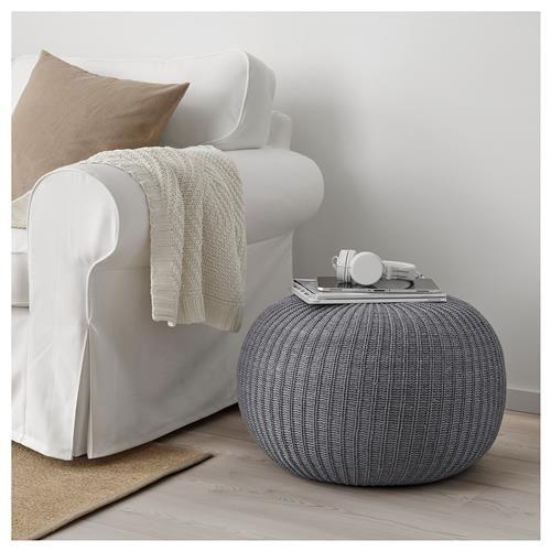 Sandared Poyf Ikea Pouffe Dining Chair Slipcovers Ikea