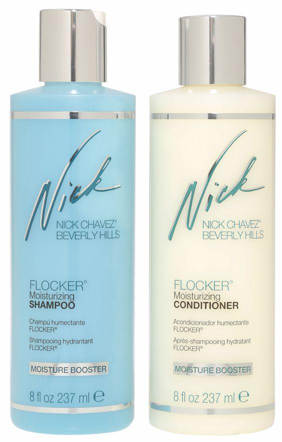 Flocker Shampoo & Conditioner von Nick Chavez © QVC
