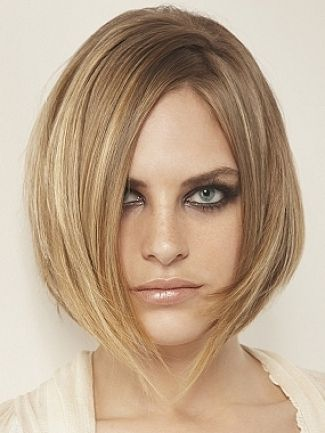 soft layered bob