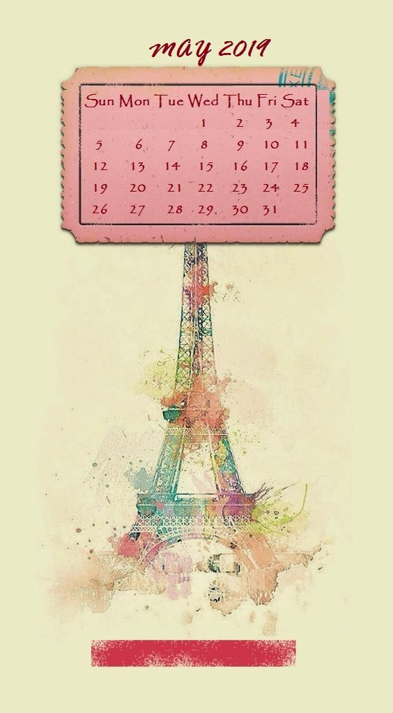 Cute Iphone 2019 Calendar Background Calendar Background 2019