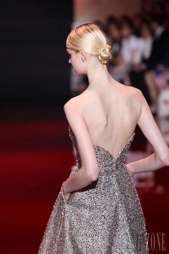 Elie Saab - Haute couture - Automne-hiver 2013-2014 - http://www.flip-zone.fr/fashion/couture-1/fashion-houses/elie-saab-3997 - ©PixelFormula