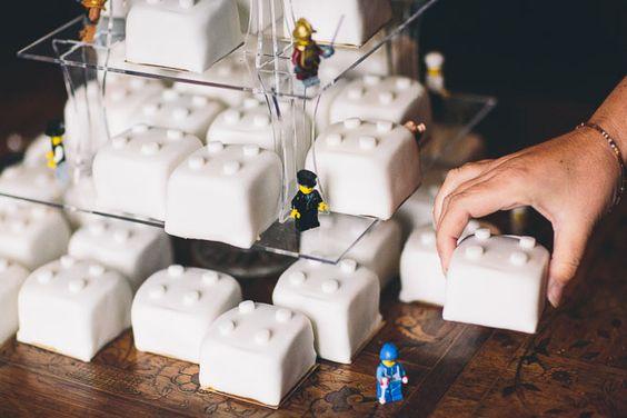 Albert Palmer Wedding Photography: My Lego wedding cake  #harrypotterwedding #Lego