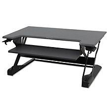 "WorkFit Sit Stand Station 37.5""W, 8804416"