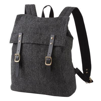 Rucksack aus Wolle