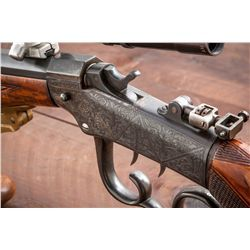 H.M. Pope Barreled Marlin Ballard Target Rifle