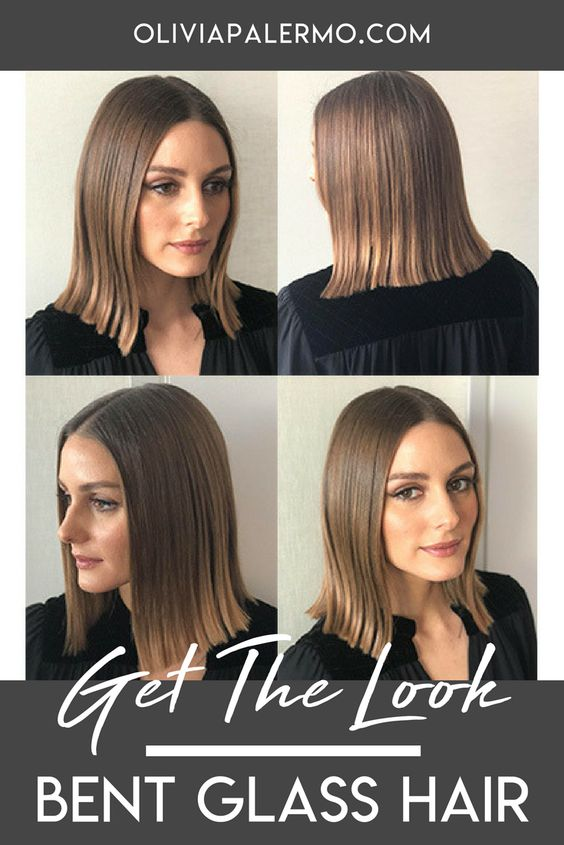 Steal Olivia's sharp, sleek hairstyle with this how-to.
