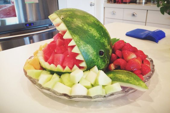 My watermelon shark was a big baby shower hit. Not hard to do either.
