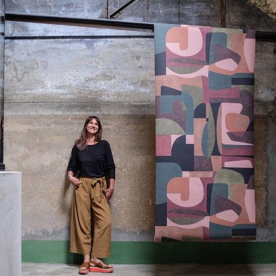 Pascale Risbourg | Wallpapers sur Instagram: Dans le ❤️des Belges ... joli article de Jean Michel Leclercq photo de @photograffiti_kaatje pour @feelingwonen_gaelmaison #designer...