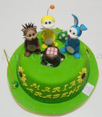 AnaCrisCake: Um lindo UKI CAKE