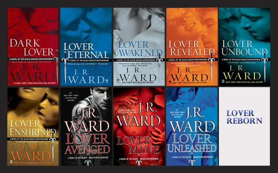 Contestant number two for my series Top Pick, the Black Dagger Brotherhood series by JR Ward.   This is my guilty pleasure of the reading world.