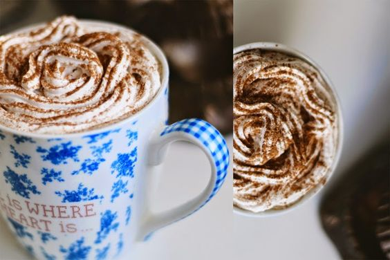 Selbstgemachten Vanilla-Latte konnte man beim Strandgutblog bewundern - schaut toll aus!