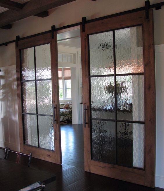 Dining Room Doors: Doors, Barn Style Doors And Modern Barn On Pinterest