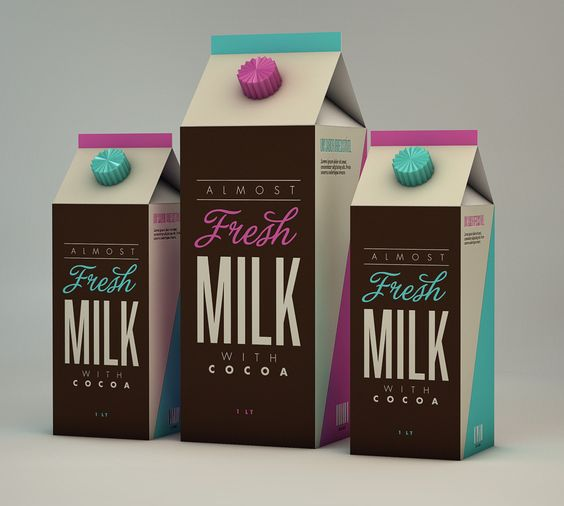 Fresh Milk with Cocoa