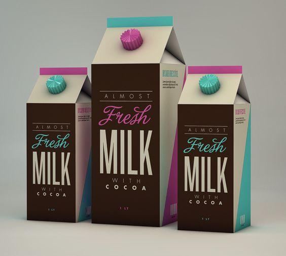 Fresh Milk with Cocoa