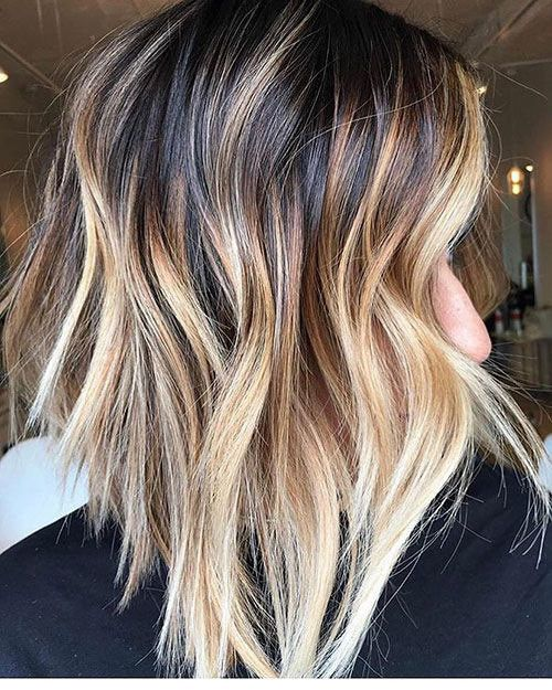 13 Blonde And Brown Highlights On Short Hair Beautiful Brown To Blonde Ombre Short Hair Short Ombre Hair Blonde Ombre Short Hair Short Hair Balayage