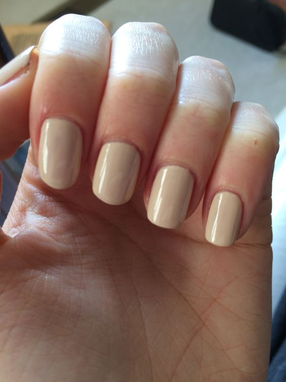 Jenna Hipp nail polish neutral