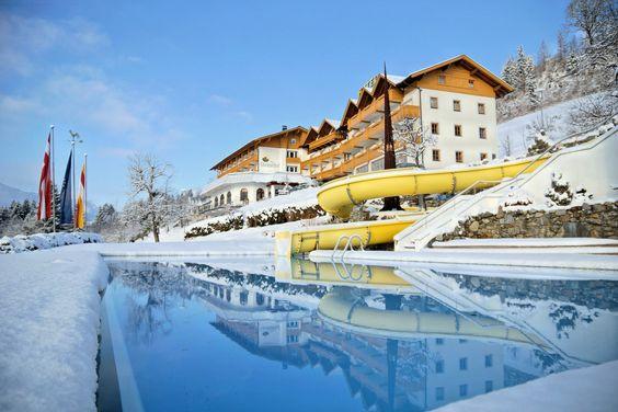 #Winterzauber am #Hotel #Glocknerhof in Berg im Drautal #Urlaub in #Österreich #Austria #Kärnten #ktr15 #npr3798