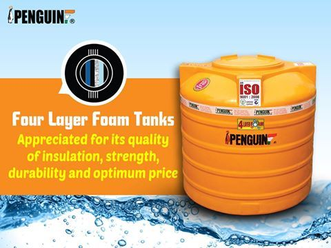 Durability Strength And Quality Insulation Is What Defines The Penguin Four Layer Tanks Penguintanks Water Storage Tanks Water Storage Water Tank