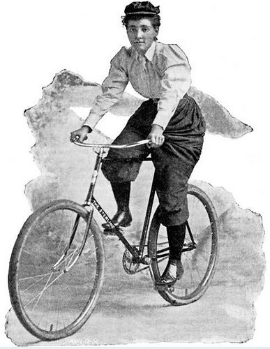 Bicycles and Dress Reform by Les Dérailleuses / Women In Gear, via Flickr