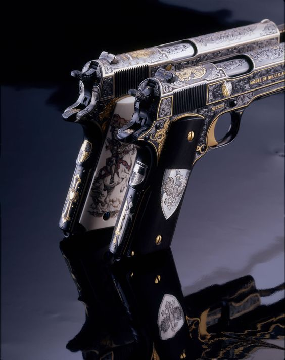 2 of the most beautiful 1911's I've ever seen