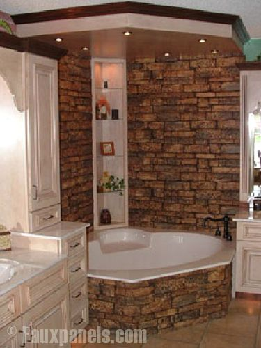 Pinterest the world s catalog of ideas for How to decorate a garden tub bathroom