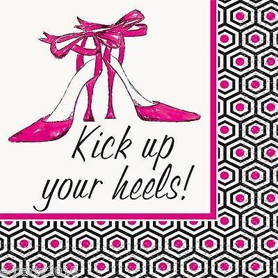 BACHELORETTE Kick Up Your Heels SMALL NAPKINS