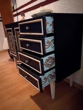 DIY Vintage kommode in Hessen - Sinntal | Wohnwand gebraucht kaufen | eBay…