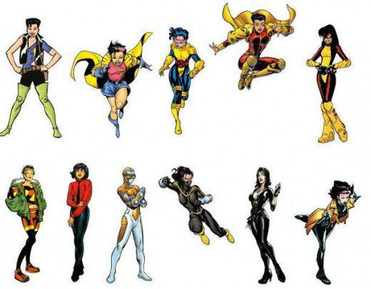 Jubilee Costume History X Men Man Character Marvel Costumes