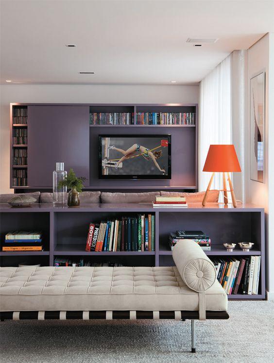 Sala De Estar Home Theater ~ Home Theater oito projetos de salas de TV  Casa