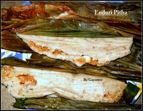 Enduri Pitha Recipe - The Typical Odia Pitha Prepared On