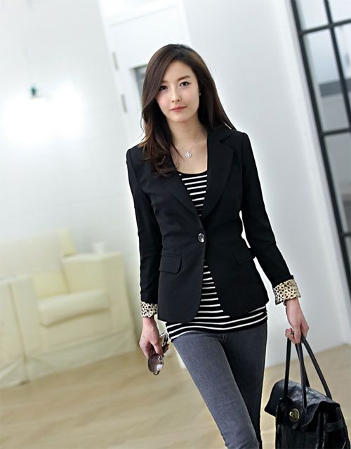 Casual business attire Cool. and just so i realized she looks like my sis. duhhh HAHA