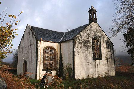 Ulva Church in Scotland