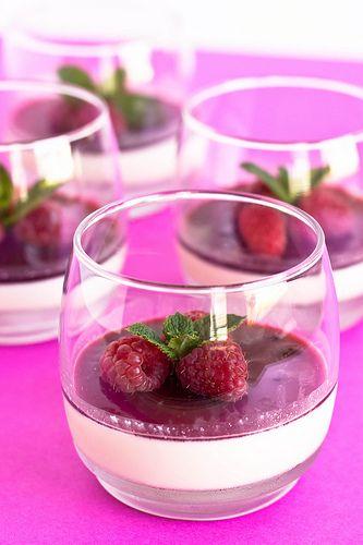 Panna cotta, Easy panna cotta recipe and Raspberry panna cotta on ...
