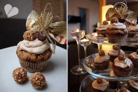 So klein, so fein, so Giotto-Cupcakes