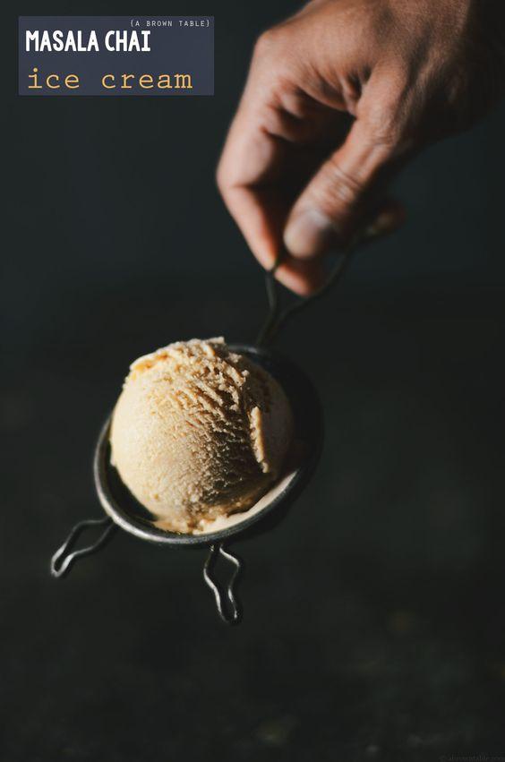 masala chai ice cream ginger cardamom.