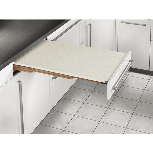 Hafele Rapid Pull Out Table System White Gray Dotted 505 58 703 Cabinet Kitchen Cabinets Wood Supply
