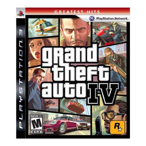 Grand Theft Auto Iv Greatest Hits Standard Edition Playstation 3 37011 Best Buy Grand Theft Auto 4 Grand Theft Auto Xbox 360 Games