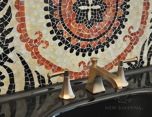 Suzani glass mosaic | New Ravenna