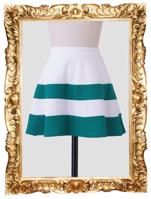 Tisbury Stripe Skirt - $32.99