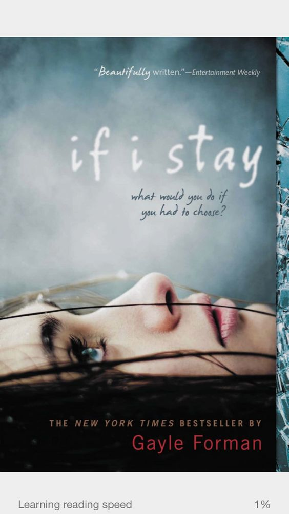 #40- if I stay (10/6/14) Meh----not a great book