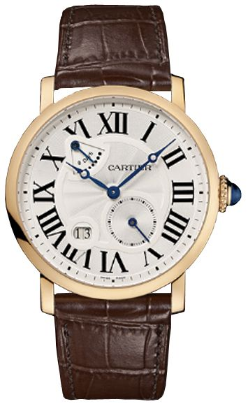Cartier Leather Strap Watch (Ideal Watch)