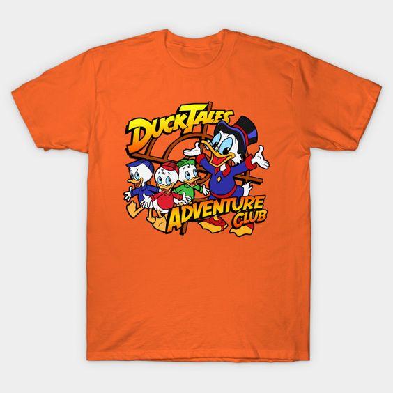 Ducktales Adventure Club - Mens T-Shirt