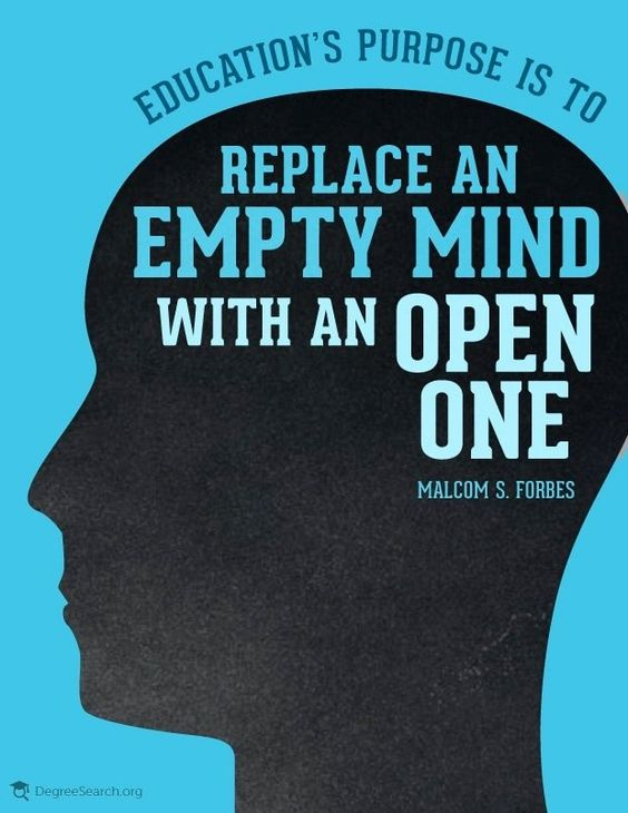 Education's purpose is to replace an empty mind essay outline