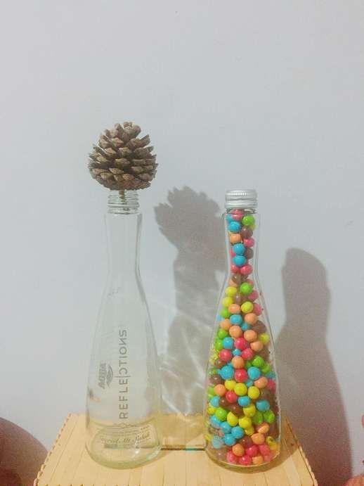 Gambar Vas Bunga Dari Botol Kaca Botol Kaca Bunga Gambar