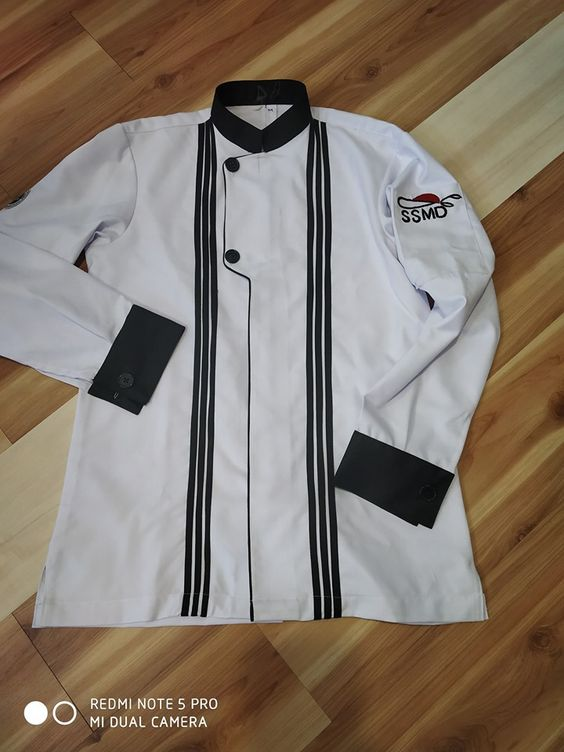 Ssmd School Of Fashion And Interior Design Pattan Uniform For Designer With Embroidery Logo Design By M Embroidery Logo Fashion Athletic Jacket