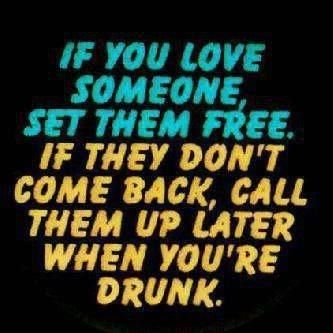 To the drinkers